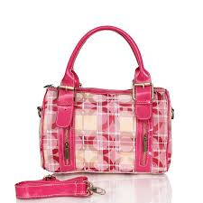 Coach Poppy In Signature Medium Pink Luggage Bags CDY