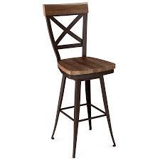 wood swivel bar stools. Kyle Wood Swivel Bar Stool By Amsico Stools L