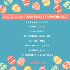 quick mini easter workout