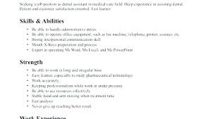 Skills And Abilities For Resume Magnificent Skills And Abilities For Resume Free Resume Templates 60