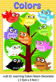 play school class room decoration and