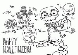 Small Picture Coloring Pages Halloween Coloring Pages Toddlers Cute Halloween