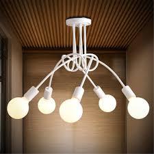 3 5 heads flush mount ceiling lights pendant