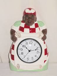 Kitchen Wall Hanging New Ceramic Aunt Jemima Decorative Kitchen Wall Hanging Clock