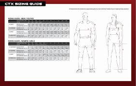 Romwear Size Chart