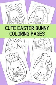 24 disney bunnies pictures to print and color. Free Easter Bunny Coloring Pages Printable Easter Activities