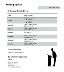 Microsoft Word Meeting Agenda Template Free Archives Agenda Template
