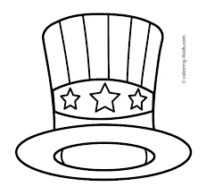 Winter Hat Coloring Pages Carriembeckerme