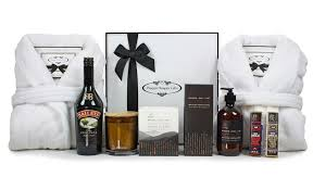 His and Hers Lovers Pamper Hamper