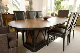 high end dining furniture. Contemporary-artistic-oval-wooden-table High End Dining Furniture