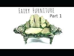 furniture fairy. Making Fairy Garden Furniture Twig Make