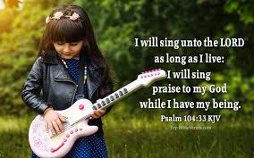 Asaph, jeduthun and heman were under the direction of the king. Sing Praises Unto The Lord Bible Verse