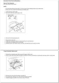 2001 Honda Civic Speedometer Dash Lights Do Not Work