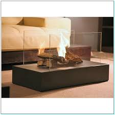 indoor fireplace coffee table