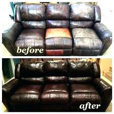 how to refurbish leather couches how to fix large hole in leather couch repairing leather couch