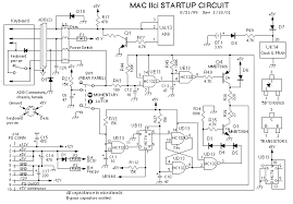 mac68k forums iici failure and recovery success i can boot the machine if i short pins 9 and 10 on the psu see iici startup circuit schematic