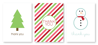 ... Holiday Thank You Cards Writing Thank You Cards Was A Necessary Task  That Followed Every Gift