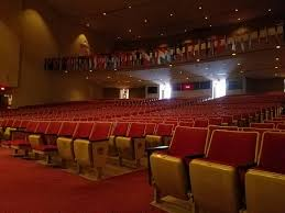 Seating In The Martin Luther King Jr International Chapel