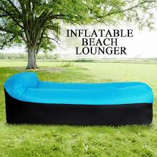 inflatable lounge furniture. It Can Be Used As Your Chair, Sofa, Bed And Swimmer. Features:Y5906BL Strong, Durable Waterproof: 210T Polyester With Waterproof Ripstop Inflatable Lounge Furniture
