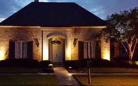 fine door landscape lighting baton rouge outdoor entryway ideas lights front entrance with crepe myrtle driveway