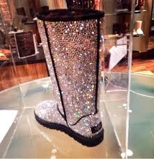 chanel glitter boots. ugg boots sparkle uggs silver chanel glitter