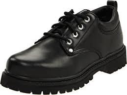 skechers shoes black. skechers usa men\u0027s alley cat utility oxford,black smooth,6.5 shoes black n