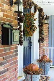 diy fall front porch decor easy diy fall porch decor ideas on fall decorating ideas awesome