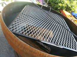 fire pit cooking grates large the with a pertaining to outdoor fireplace bbq grill diy portable