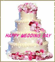Happy Wedding Day Cake