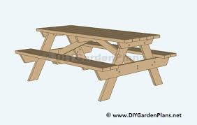 diy project picnic table plans