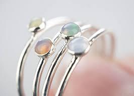 whole 10x opal rings dainty opal ring opal jewelry
