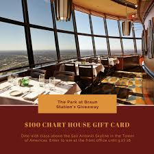 Chart House Dinner Giveaway