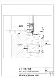 D 01 0023 Unterer Fensteranschluss An Stahlblechfassade Detail