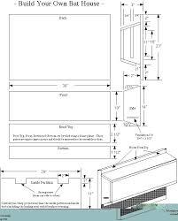 free bat house plans pdf large building