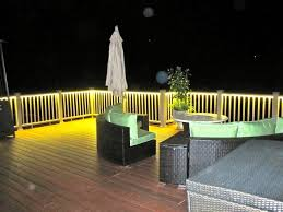 balcony lighting. deck and balcony design with led lighting traditionalporch
