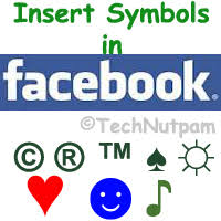 Trademark Symbol Copy Paste How To Insert Symbols In Facebook Status Messages
