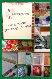Quilting Secrets: 27 Tips and Tricks for Quilt Making | FaveQuilts.com & Quilting Secrets 27 Tips and Tricks for Quilt Making Adamdwight.com