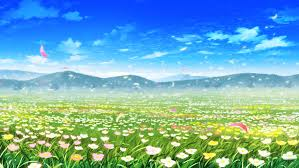 Flower Landscapes Clouds Flowers Grass Landscape Nobody Petals Scenic Sky Tagme