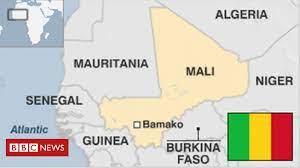 مالي چې رسمي نوم یې د د مالي جمهوریت دی په لویدیځې افریقا کې په وچې پورې تړلې یو هیواد دی. Mali Country Profile Bbc News