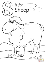 Small Picture Sheep Coloring Page Ppinewsco