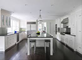 kitchens with white cabinets and dark floors. White Kitchen Cabinets Dark Wood Floors Kitchens With White Cabinets And Dark Floors O