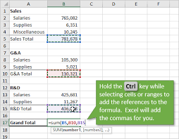 Well Control Formulas Charts And Tables Free Download How To Add Multiple Range References To Formulas In Excel