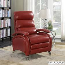 recliner chairs uk. Interesting Recliner Barcalounger Pegasus Red Leather Recliner Chair In Chairs Uk S