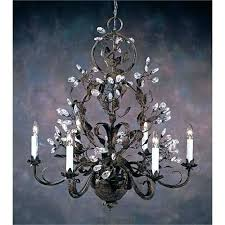 iron and crystal chandelier iron crystal chandelier wonderful iron and crystal chandelier wrought iron chandeliers with