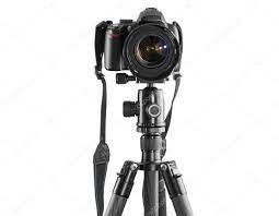 Dslr Kamera auf einem Stativ - Stockfotografie: lizenzfreie Fotos © mkos83  94165588