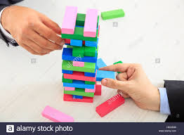 Game Played With Wooden Blocks Hands playing wooden blocks game Stock Photo 100 Alamy 57