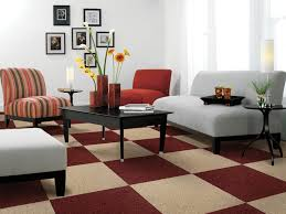 furniture modern carpet design for contemporary family room decorating ideas with wall photo frame arrangement chic family room decorating ideas