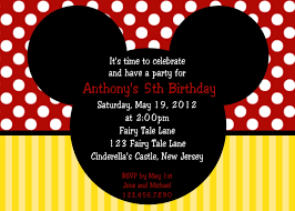 mickey mouse birthday invitations com mickey mouse birthday invitations for a best birthday using astonishing invitation templates printable 18