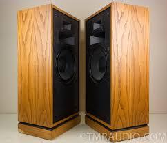 klipsch forte 3. klipsch forte vintage floorstanding speakers; oiled oak pair | the music room 3