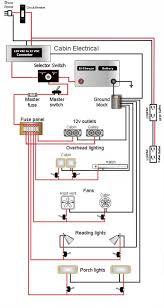 teardrop camper wiring schematic lonely teardrops pinterest Easy Wiring Fuse Panel Diagram Easy Wiring Fuse Panel Diagram #19 Fuse Box Diagram